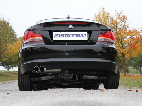 eisenmann bmw e82 e88 125i performance exhaust 2 x. Black Bedroom Furniture Sets. Home Design Ideas