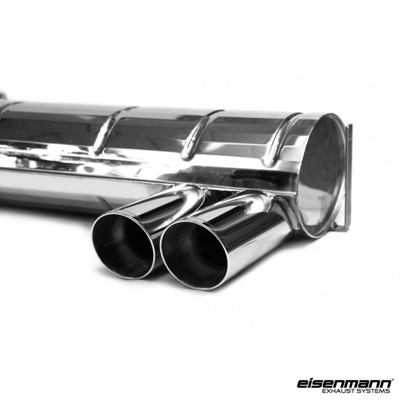 eisenmann bmw e46 m3 performance exhaust 4 x 83mm. Black Bedroom Furniture Sets. Home Design Ideas