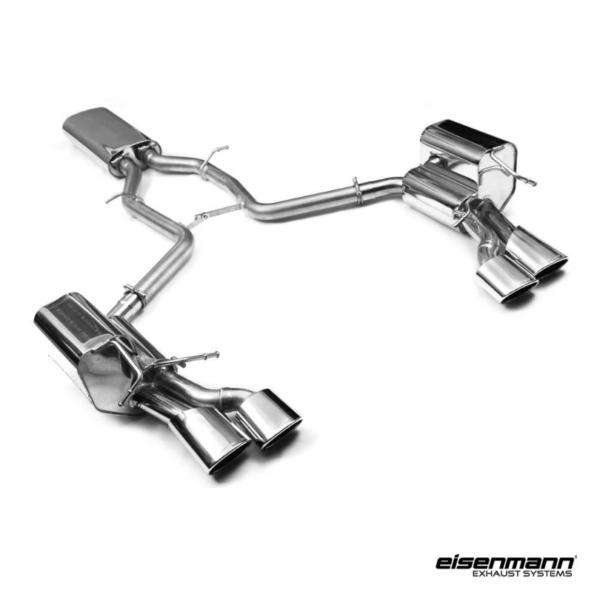 Eisenmann mercedes benz w209 coupe clk320 clk500 for Mercedes benz performance exhaust