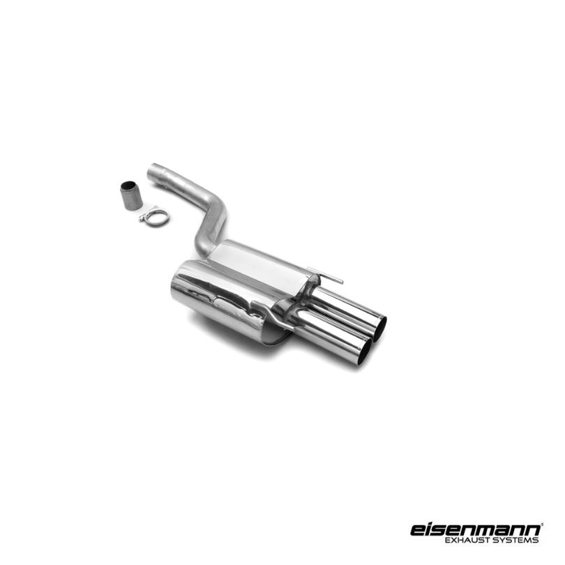 Eisenmann mercedes benz w208 clk55 amg performance exhaust for Mercedes benz performance exhaust