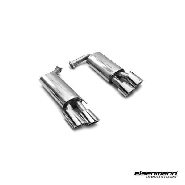 Eisenmann mercedes benz r230 sl55 amg performance exhaust for Mercedes benz performance exhaust