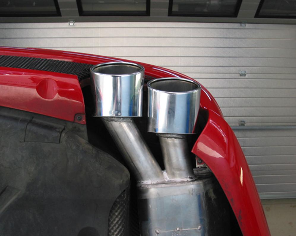 Eisenmann mercedes benz r230 sl65 amg performance exhaust for Mercedes benz performance exhaust