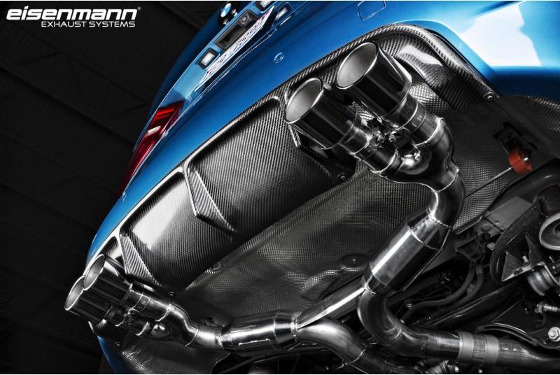 Eisenmann BMW F8X X5M/X6M Race Performance Exhaust – 4 x 90mm