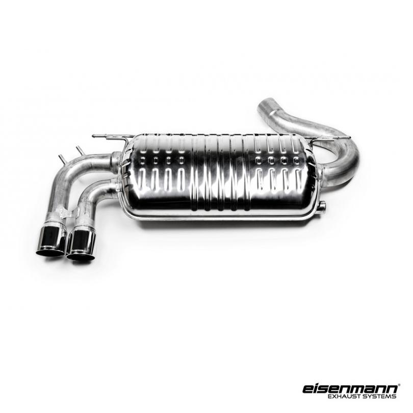 Eisenmann BMW F30 / F31 320i (B48) Performance Exhaust – 2 x 76mm