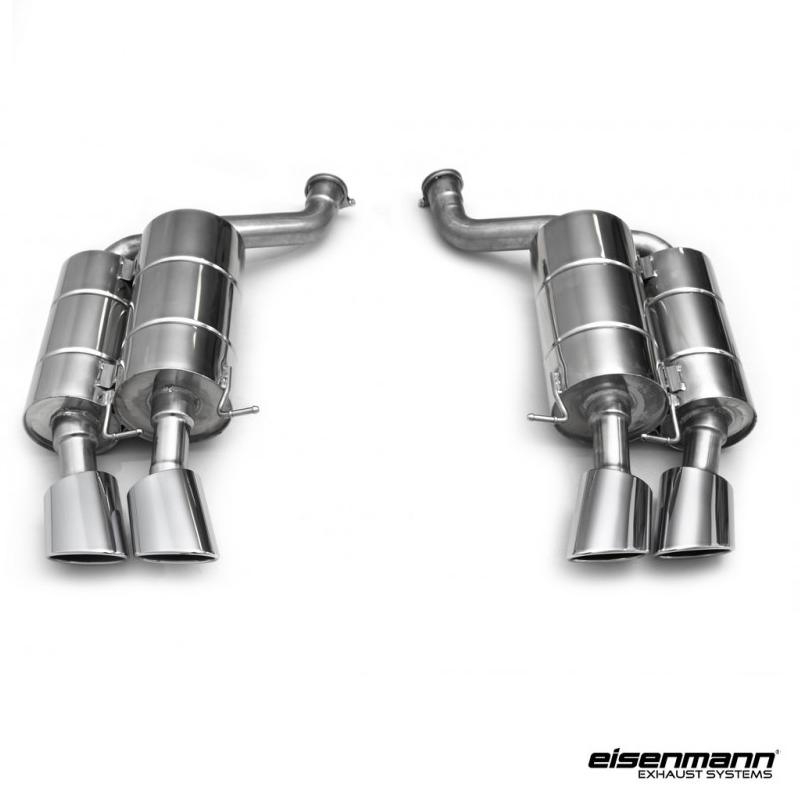 Eisenmann Bmw E63 E64 M6 Performance Exhaust 4 X 120 X 77mm
