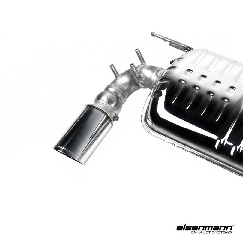 Eisenmann BMW F30 / F31 320i (B48) Performance Exhaust – 2 x 90mm