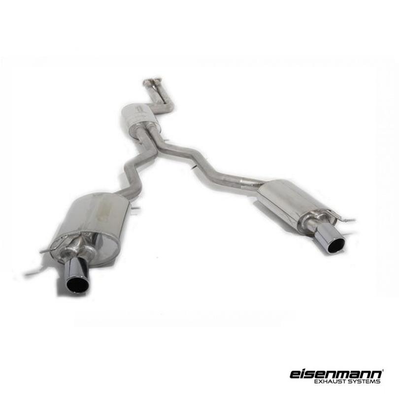 Bmw Z4 E89 Exhaust: Eisenmann BMW E89 Z4 SDrive35i/is Performance Exhaust