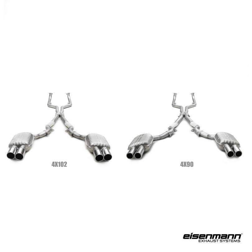 eisenmann bmw f10 m5 performance exhaust  u2013 full system