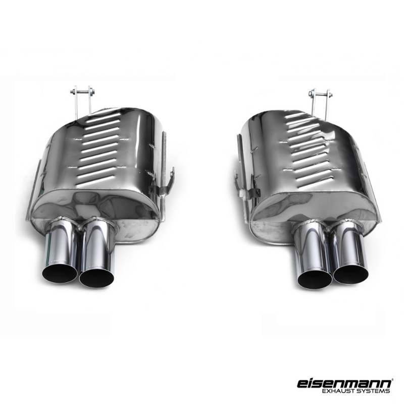 Eisenmann Bmw E85 E86 Z4m Performance Exhaust 4 X 83mm