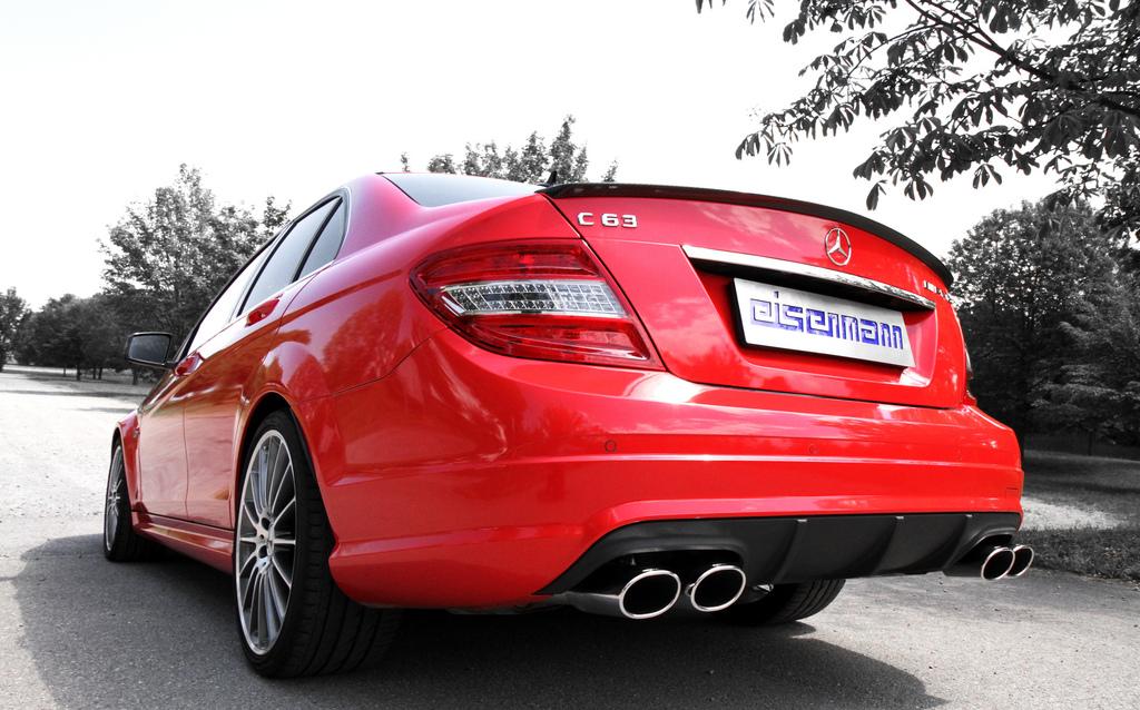 Eisenmann Mercedes-Benz W204/C204 C63 AMG Performance Exhaust – 4 x 120 x  77mm