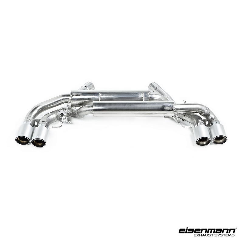 eisenmann bmw f90 m5 sport performance exhaust  u2013 4 x 90mm